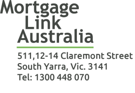 Mortgage Link Logo with Address